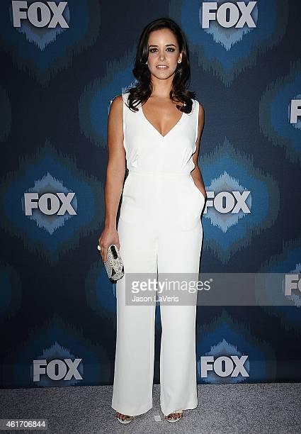 Actress Melissa Fumero attends the FOX winter TCA AllStar party at Langham Hotel on January 17 2015 in Pasadena California