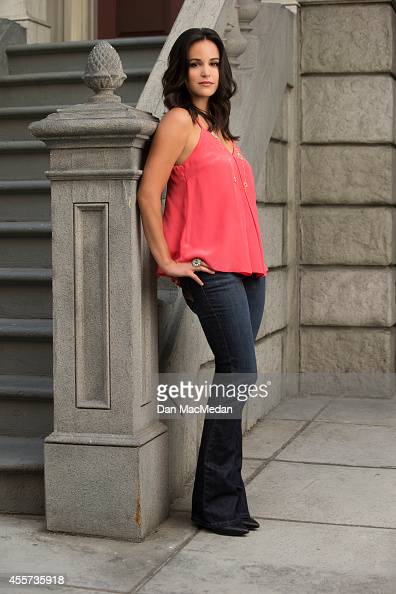 Actress Melissa Fumero is photographed for USA Today Hispanic Living on May 22 2014 in Los Angeles California