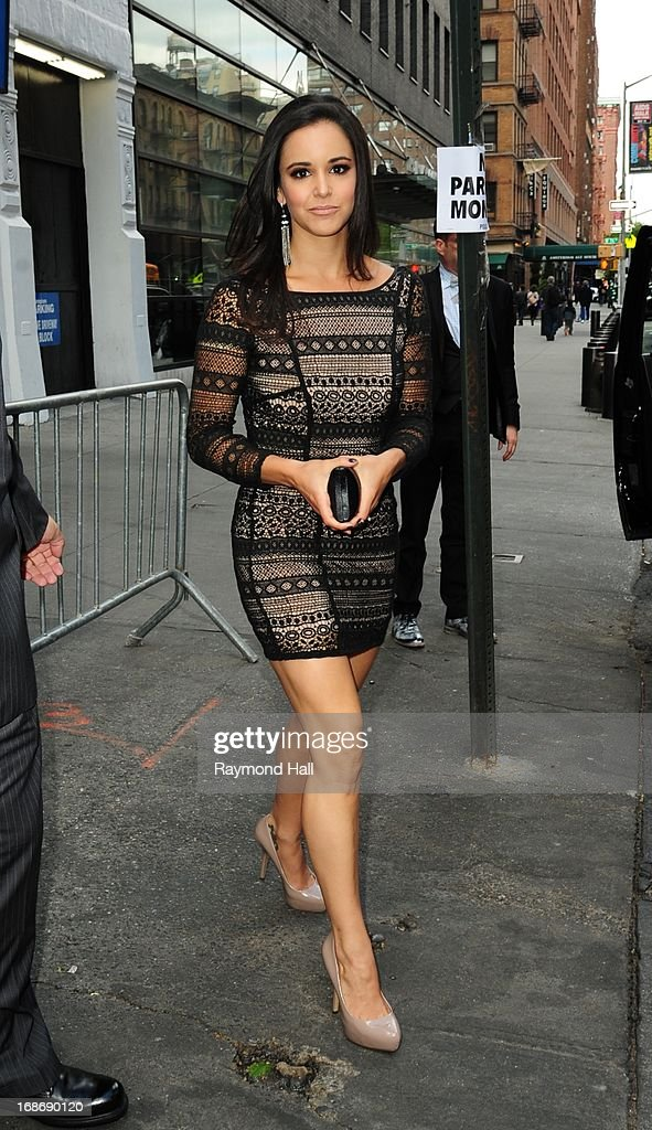 Actress Melissa Fumero is seen outside 'Citrus Bar & Grill' On May 13, 2013 in New York City.