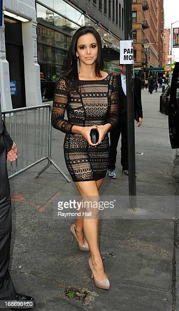 Actress Melissa Fumero is seen outside 'Citrus Bar Grill' On May 13 2013 in New York City
