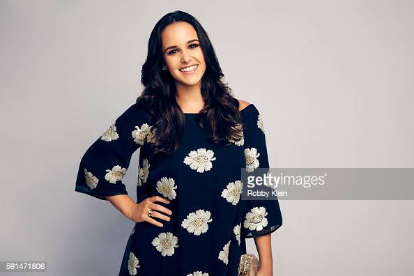 Actress Melissa Fumero poses for a portrait at the FOX Summer TCA Press Tour at Soho House on August 9 2016 in Los Angeles California