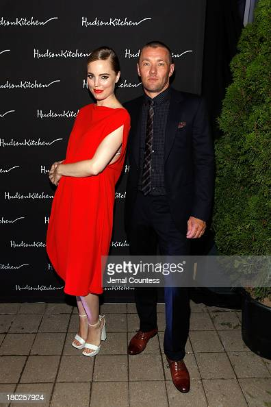 Actress Melissa George and Actor/Writer/Producer Joel Edgerton arriive at the 'Felony' Cocktail Party during the 2013 Toronto International Film...