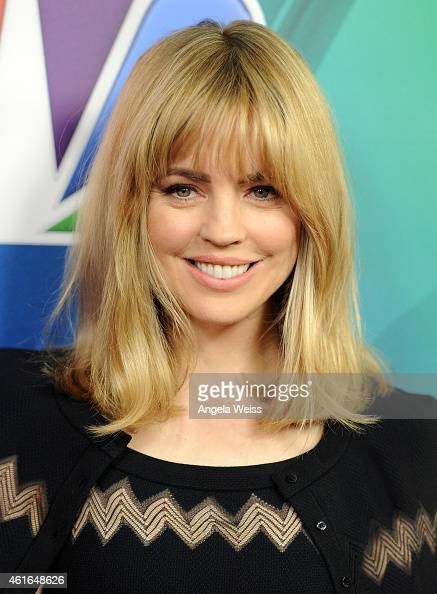 Actress Melissa George arrives at NBCUniversal's 2015 Winter TCA Tour Day 2 at The Langham Huntington Hotel and Spa on January 16 2015 in Pasadena...