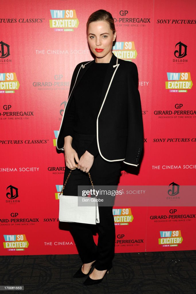 Actress <a gi-track='captionPersonalityLinkClicked' href=/galleries/search?phrase=Melissa+George&family=editorial&specificpeople=201840 ng-click='$event.stopPropagation()'>Melissa George</a> attends a screening of Sony Pictures Classics' 'I'm So Excited' hosted by Girard-Perregaux and The Cinema Society with DeLeon at Sunshine Landmark on June 6, 2013 in New York City.