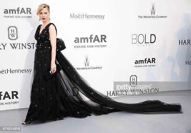 Actress Melissa George attends amfAR's 22nd Cinema Against AIDS Gala Presented By Bold Films And Harry Winston at Hotel du CapEdenRoc on May 21 2015...