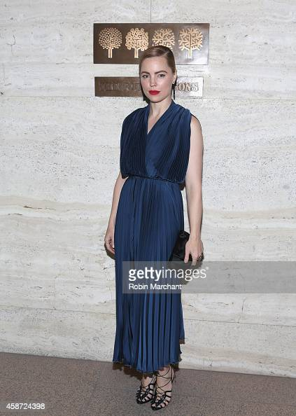 Actress Melissa George attends Project Perpetual's Inaugural Auction Benefiting The United Nations Foundation at Four Seasons Restaurant on November...
