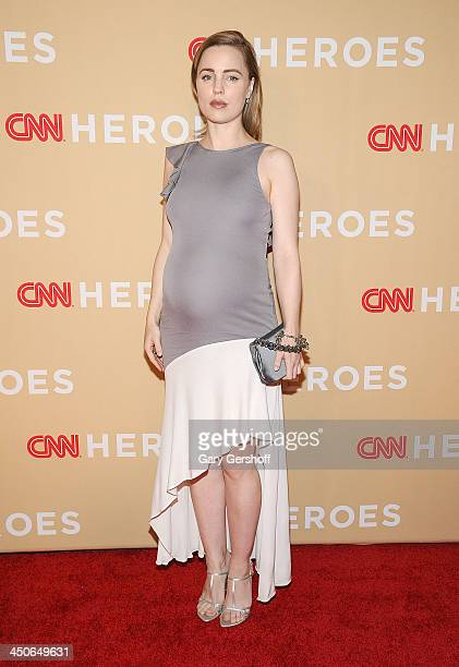 Actress Melissa George attends the 2013 CNN Heroes An All Star Tribute at The American Museum of Natural History on November 19 2013 in New York City