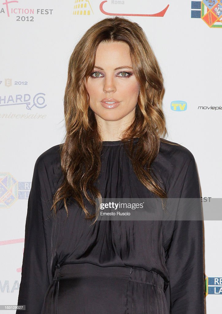 Actress Melissa George attends the ' RomaFictionFest 2012 - Opening Ceremony' at Auditorium Parco Della Musica on September 30, 2012 in Rome, Italy.