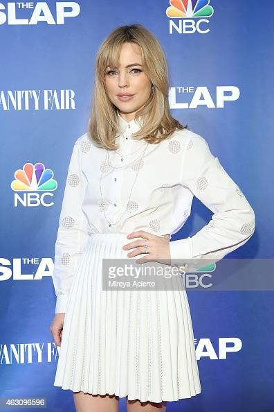 Actress Melissa George attends 'The Slap' New York Premiere Party at The New Museum on February 9 2015 in New York City