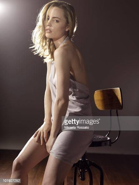 Actress Melissa George poses for a portrait session on January 7 New York NY
