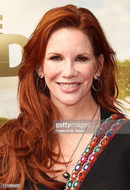 Actress Melissa Gilbert attends the premiere of Warner Brothers' 'Born to be Wild' at the California Science Center on April 3 2011 in Los Angeles...