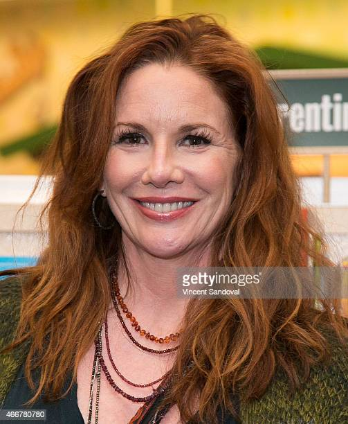 Actress Melissa Gilbert signs and discusses her new book 'My Prairie Cookbook' at Barnes Noble bookstore at The Grove on March 18 2015 in Los Angeles...