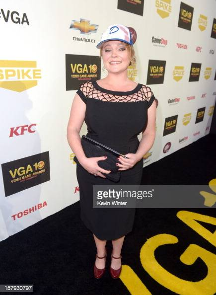 Actress Melissa Hutchison arrives at Spike TV's 10th annual Video Game Awards at Sony Pictures Studios on December 7 2012 in Culver City California