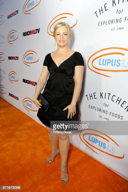 Actress Melissa Joan Hart attends Lupus LA's Orange Ball Rocket to a Cure at the California Science Center on April 22 2017 in Los Angeles California