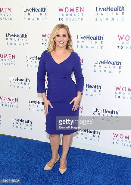 Actress Melissa Joan Hart attends the 2016 LiveHealth online summit Women Connect To Health at The IAC Building on September 27 2016 in New York City