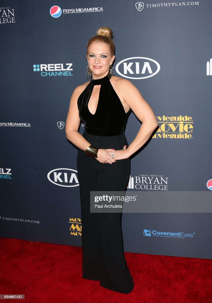 Actress Melissa Joan Hart attends the 25th Annual Movieguide Awards at Universal Hilton Hotel on February 10, 2017 in Universal City, California.