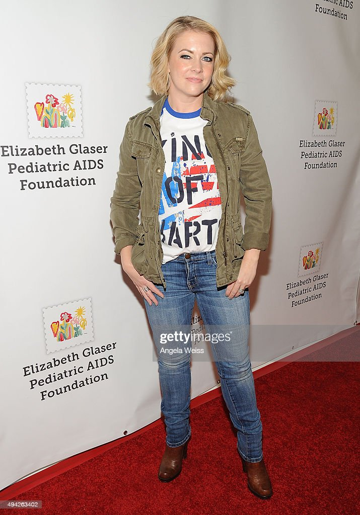 Actress Melissa Joan Hart attends the Elizabeth Glaser Pediatric AIDS Foundation's 26th Annual A Time for Heroes family festival at Smashbox Studios...
