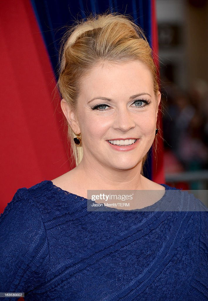 Actress Melissa Joan Hart attends the premiere of Warner Bros. Pictures' 'The Incredible Burt Wonderstone' at TCL Chinese Theatre on March 11, 2013 in Hollywood, California.