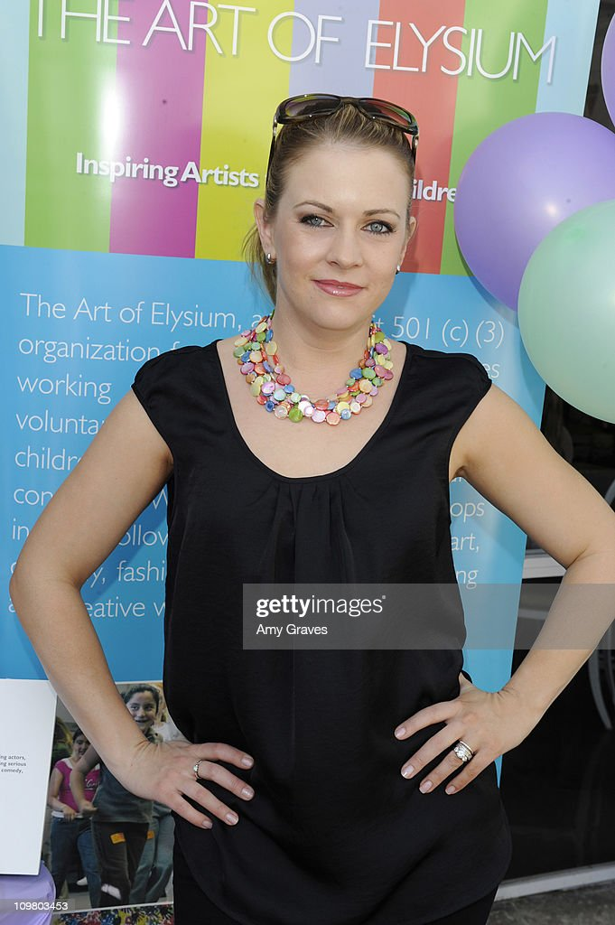 Actress Melissa Joan Hart attends the Sweet Harts 'Play Date' Launch Party Benefitting The Art of Elysium at Sweet Harts on March 5, 2011 in Sherman Oaks, California.