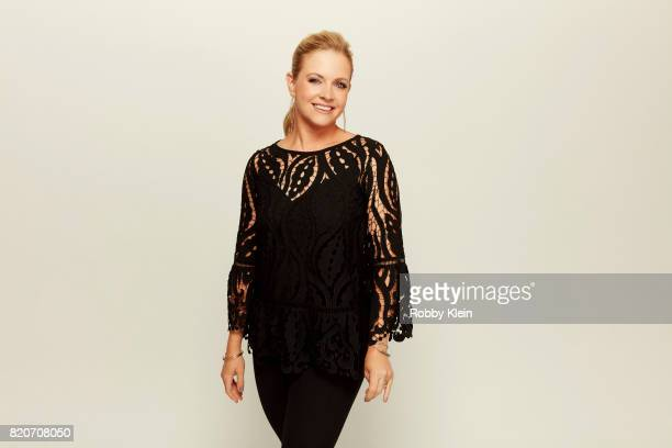 Actress Melissa Joan Hart from 'The Watcher in the Woods' poses for a portrait during ComicCon 2017 at Hard Rock Hotel San Diego on July 20 2017 in...