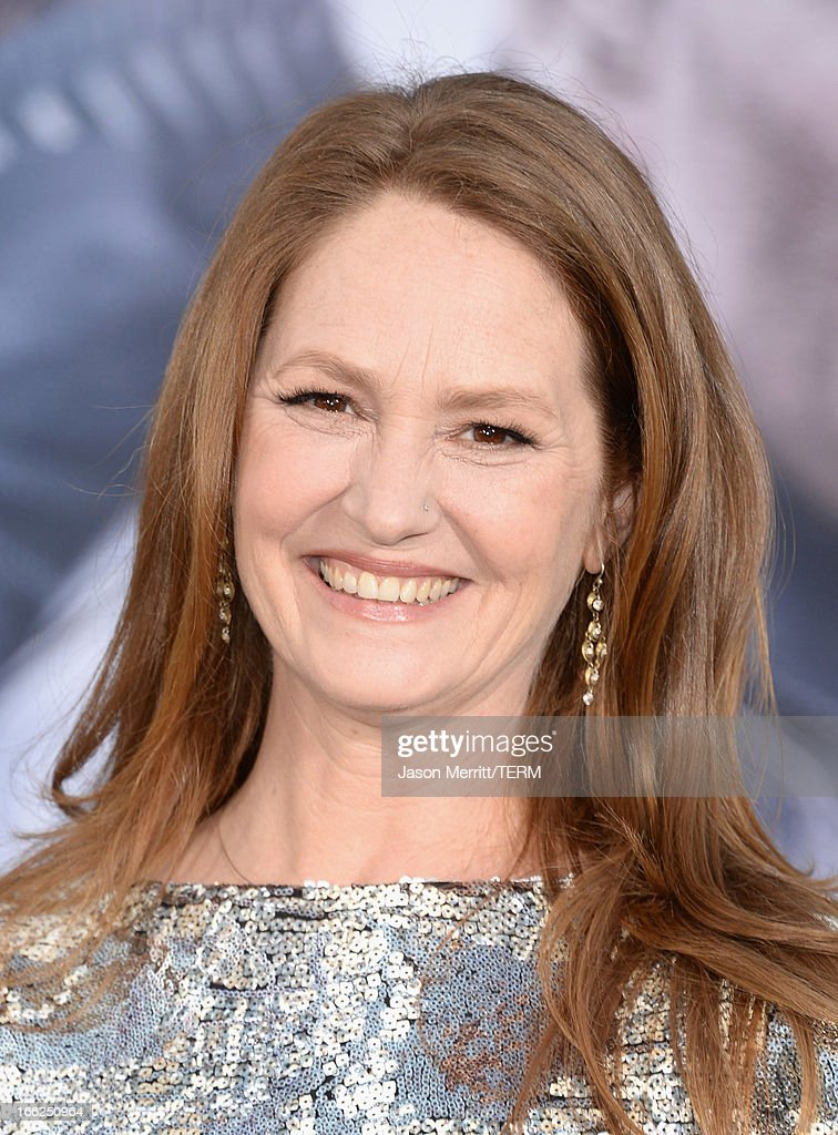 Actress Melissa Leo arrives at the premiere of Universal Pictures' 'Oblivion' at Dolby Theatre on April 10, 2013 in Hollywood, California.