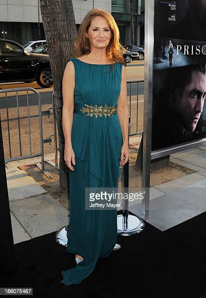 Actress Melissa Leo arrives at the 'Prisoners' Los Angeles Premiere at the Academy of Motion Picture Arts and Sciences on September 12 2013 in...