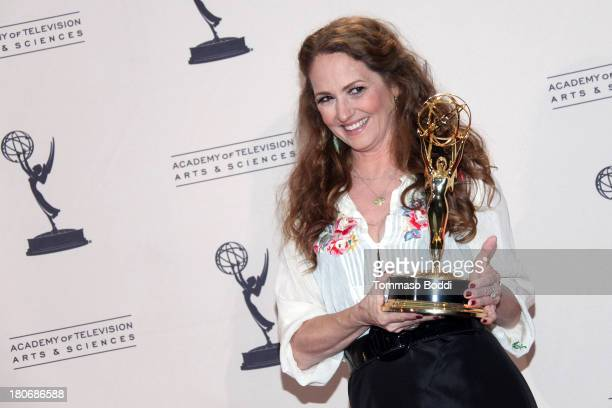 Actress Melissa Leo attends the 2013 Creative Arts Emmy Awards Ceremony at the Nokia Theatre LA Live on September 15 2013 in Los Angeles California