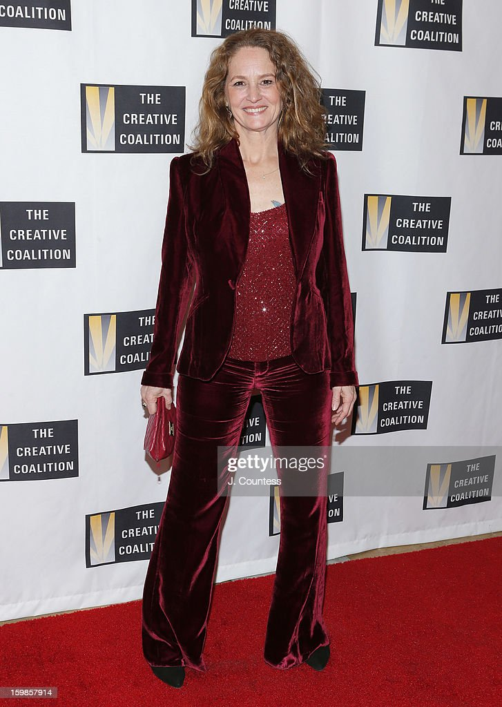 Actress Melissa Leo attends The Creative Coalition's 2013 Inaugural Ball at the Harman Center for the Arts on January 21, 2013 in Washington, United States.