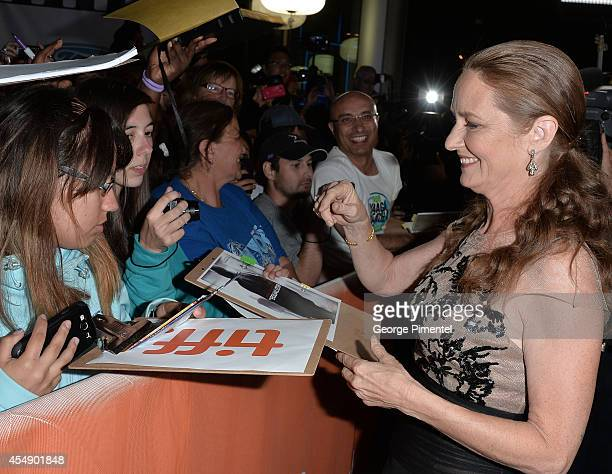 Actress Melissa Leo attends 'The Equalizer' premiere during the 2014 Toronto International Film Festival at Roy Thomson Hall on September 7 2014 in...