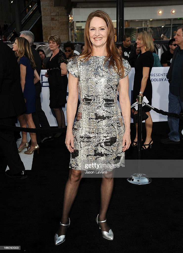 Actress Melissa Leo attends the premiere of 'Oblivion' at the Dolby Theatre on April 10, 2013 in Hollywood, California.