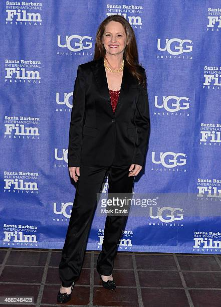 Actress Melissa Leo attends the presentation of the Outstanding Director Award at the Arlington Theatre at the 29th Santa Barbara International Film...