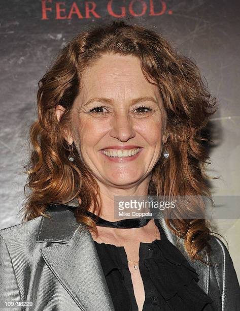 Actress Melissa Leo attends 'The Red State' tour launch at Radio City Music Hall on March 5 2011 in New York City