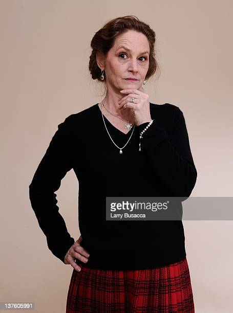 Actress Melissa Leo poses for a portrait during the 2012 Sundance Film Festival at the Getty Images Portrait Studio at TMobile Village at the Lift on...