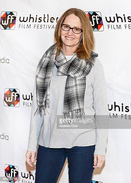 Actress Melissa Leo poses on the redcarpet at 2013 Whistler Film Festival on December 6 2013 in Whistler Canada