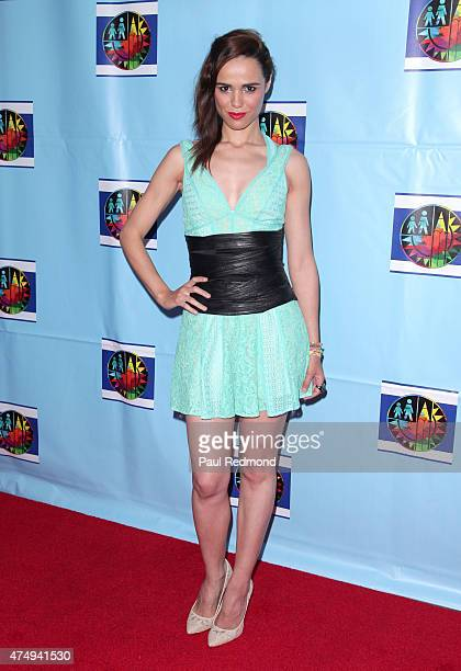 Actress Melissa Mars arrives at Red Carpet Gala Grand Finale of Los Angeles Unified School District's series of 'Let's Celebrate' District Wide Arts...
