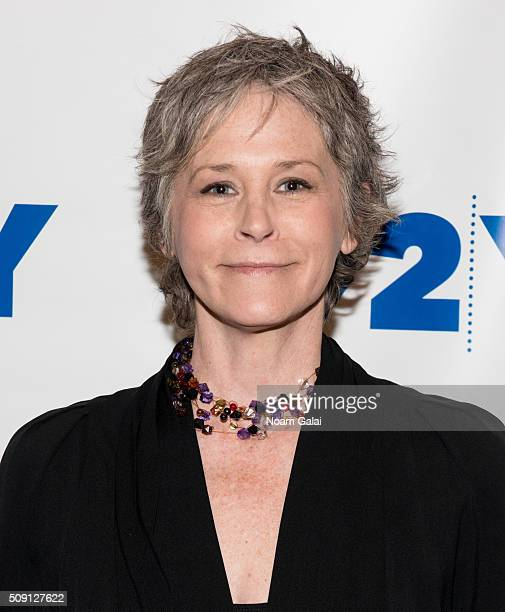 Actress Melissa McBride attends 'The Walking Dead' screening and conversation at 92nd Street Y on February 8 2016 in New York City