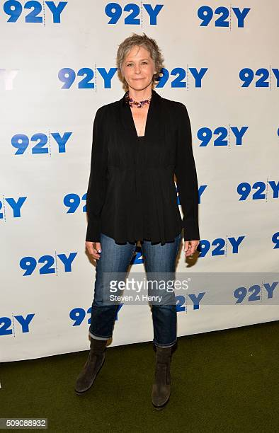 Actress Melissa McBride attends 'The Walkng Dead' screening and conversation at 92nd Street Y on February 8 2016 in New York City