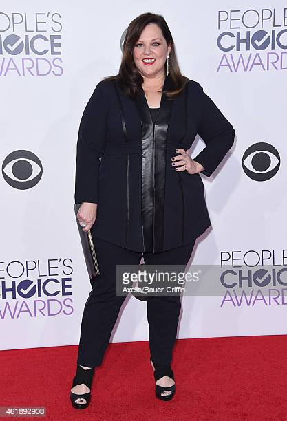Actress Melissa McCarthy arrives at The 41st Annual People's Choice Awards at Nokia Theatre LA Live on January 7 2015 in Los Angeles California