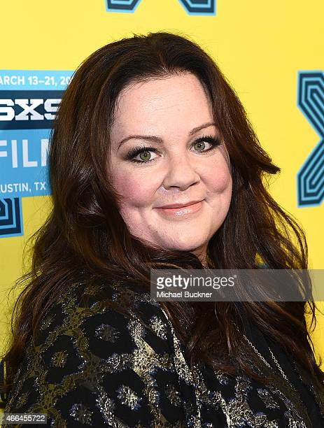 Actress Melissa McCarthy arrives at the premiere of 'Spy' during the 2015 SXSW Music Film Interactive Festival at the Paramount on March 15 2015 in...