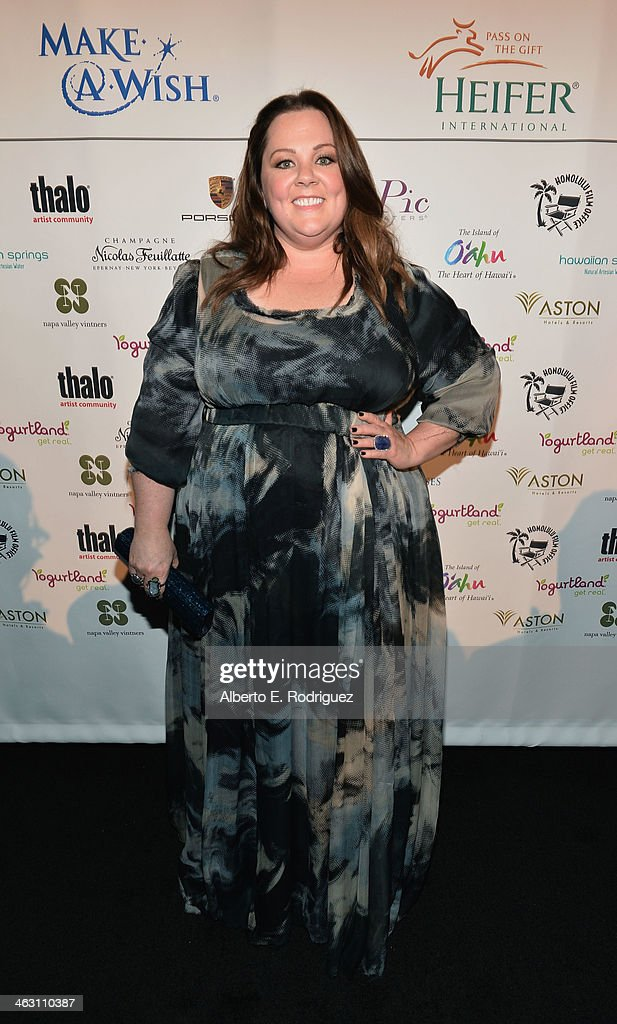 Actress <a gi-track='captionPersonalityLinkClicked' href=/galleries/search?phrase=Melissa+McCarthy&family=editorial&specificpeople=880291 ng-click='$event.stopPropagation()'>Melissa McCarthy</a> attends 19th Annual Critics' Choice Movie Awards at Barker Hangar on January 16, 2014 in Santa Monica, California.