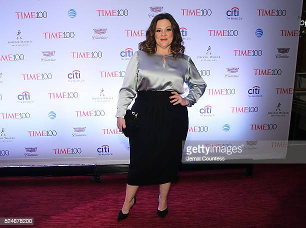 Actress Melissa McCarthy attends 2016 Time 100 Gala Time's Most Influential People In The World red carpet at Jazz At Lincoln Center at the Times...