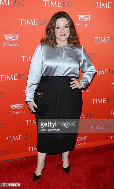 Actress Melissa McCarthy attends the 2016 Time 100 Gala at Frederick P Rose Hall Jazz at Lincoln Center on April 26 2016 in New York City