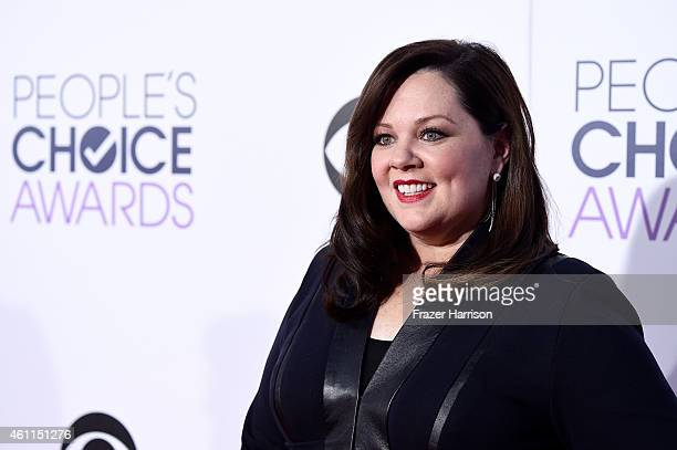 Actress Melissa McCarthy attends The 41st Annual People's Choice Awards at Nokia Theatre LA Live on January 7 2015 in Los Angeles California