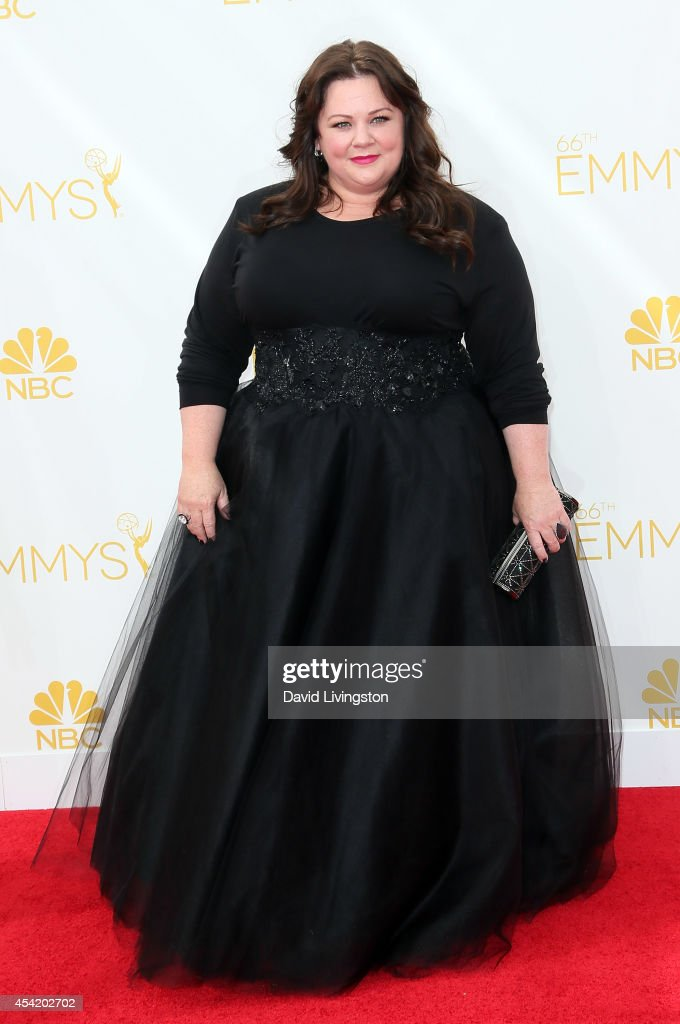 Actress <a gi-track='captionPersonalityLinkClicked' href=/galleries/search?phrase=Melissa+McCarthy&family=editorial&specificpeople=880291 ng-click='$event.stopPropagation()'>Melissa McCarthy</a> attends the 66th Annual Primetime Emmy Awards at the Nokia Theatre L.A. Live on August 25, 2014 in Los Angeles, California.