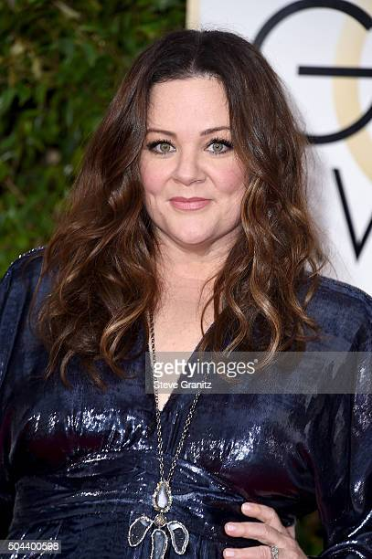 Actress Melissa McCarthy attends the 73rd Annual Golden Globe Awards held at the Beverly Hilton Hotel on January 10 2016 in Beverly Hills California