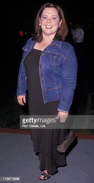 Actress Melissa McCarthy attends WB Network AllStar Party on May 15 2001 at the Lighthouse at Chelsea Piers in New York City