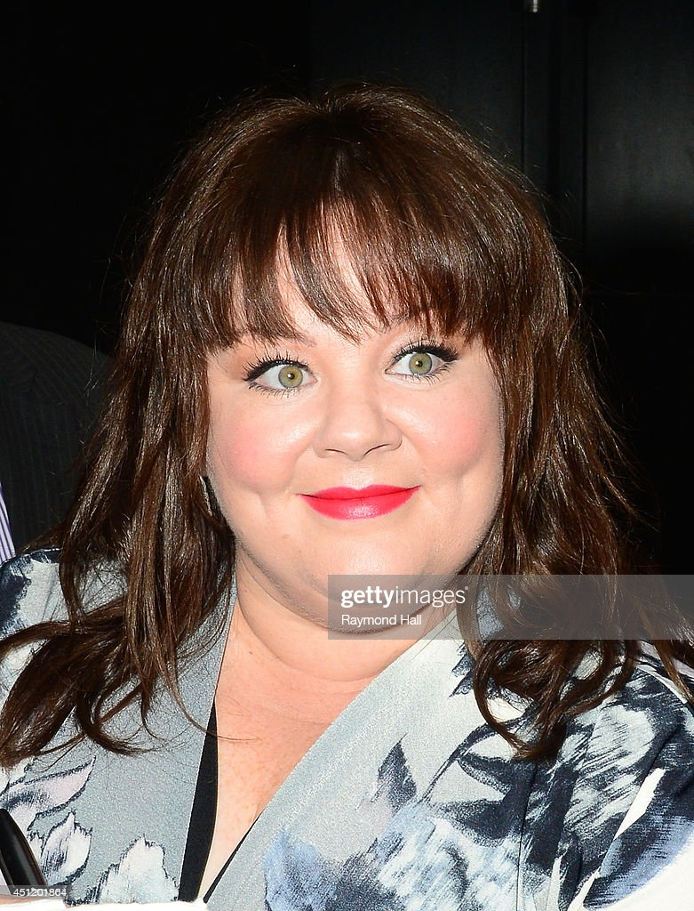 Actress Melissa McCarthy is seen is seen outside 'Good Morning America'on June 25, 2014 in New York City.