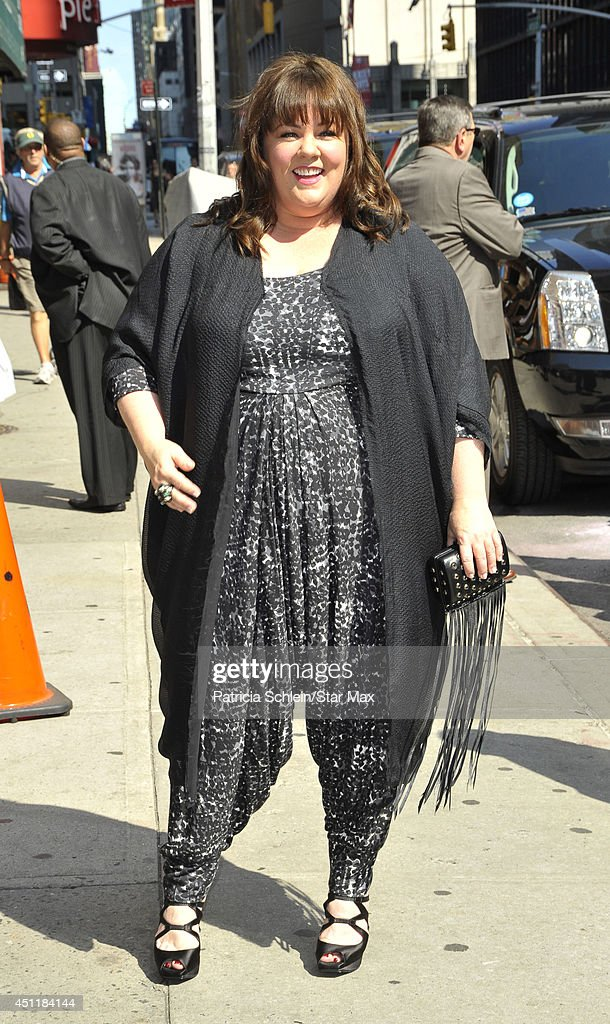 Actress <a gi-track='captionPersonalityLinkClicked' href=/galleries/search?phrase=Melissa+McCarthy&family=editorial&specificpeople=880291 ng-click='$event.stopPropagation()'>Melissa McCarthy</a> is seen on June 24, 2014 in New York City.