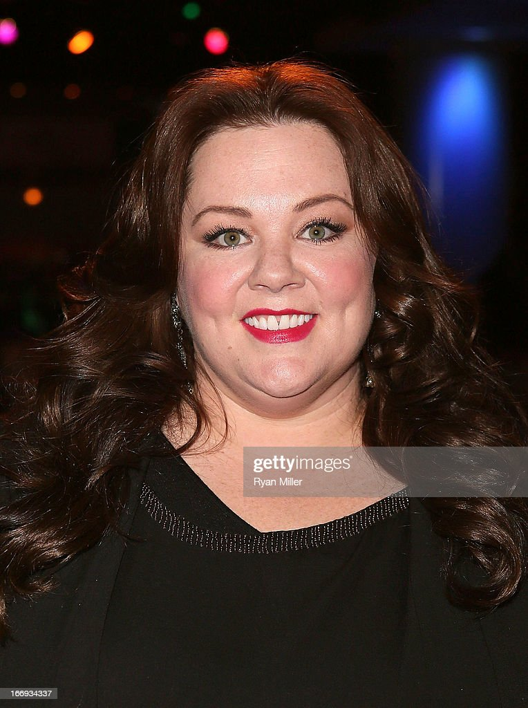Actress Melissa McCarthy, recipient of the Female Star of the Year award, attends the CinemaCon 2013 Final Night Awards at Caesars Palace during CinemaCon, the official convention of the National Association of Theatre Owners on April 18, 2013 in Las Vegas, Nevada.