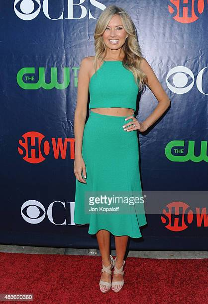 Actress Melissa Ordway arrives at CBS CW And Showtime 2015 Summer TCA Party at Pacific Design Center on August 10 2015 in West Hollywood California